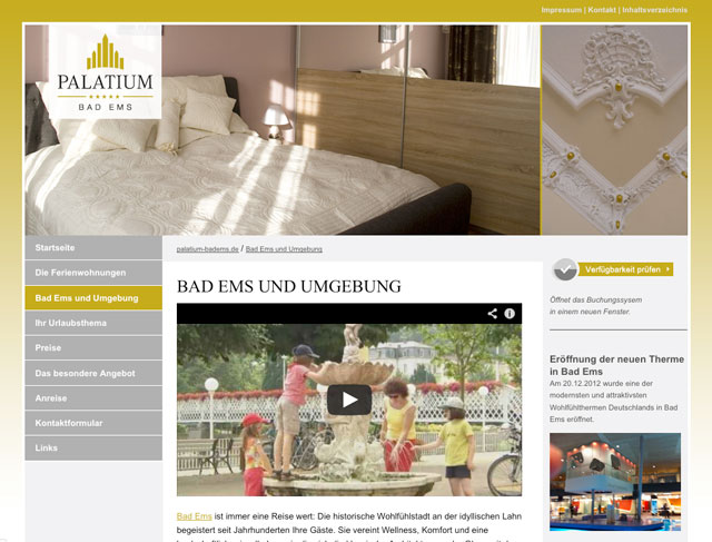 Screenshot Palatium Bad Ems